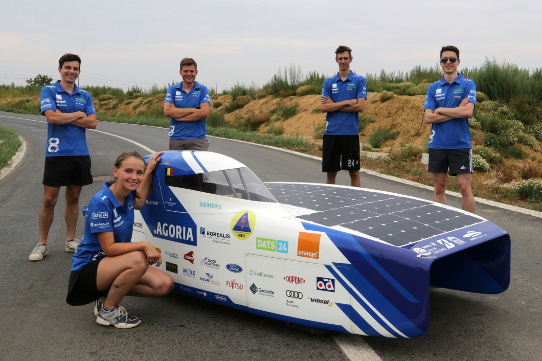 Orange Belgium becomes the Golden Connectivity partner of the Agoria Solar Team