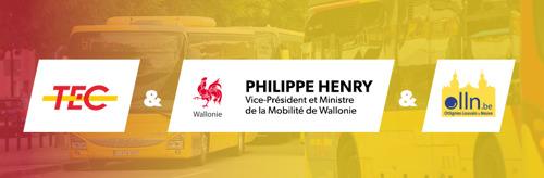 Autonom-e à Louvain-la-Neuve : la navette autonome s'apprête à franchir le carrefour à feux !