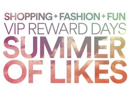 Clarksburg Premium Outlets celebrates shoppers with launch of VIP Reward Days: Summer of Likes