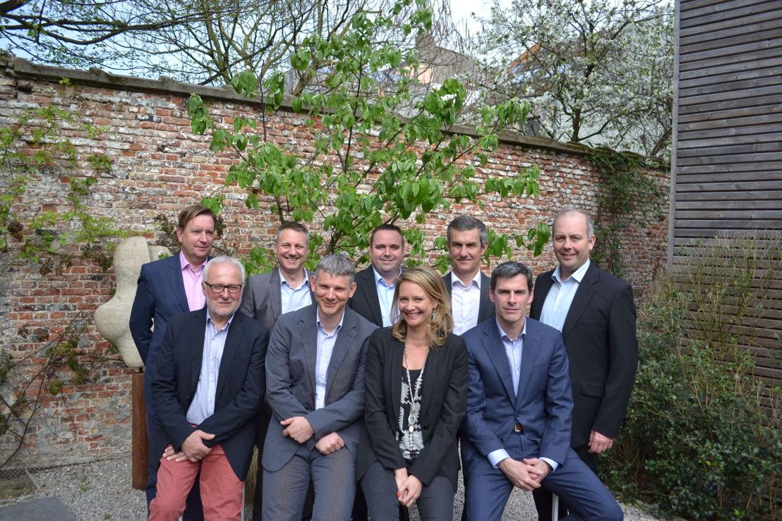 Bopro - Le management team : Alain van Houtte, Stefaan Martel, Dimitri Torfs, Peter Garré, Johan Verbeke, Frank Buffel, Arnold Schautteet, Tessa De Buysere, Peter De Durpel