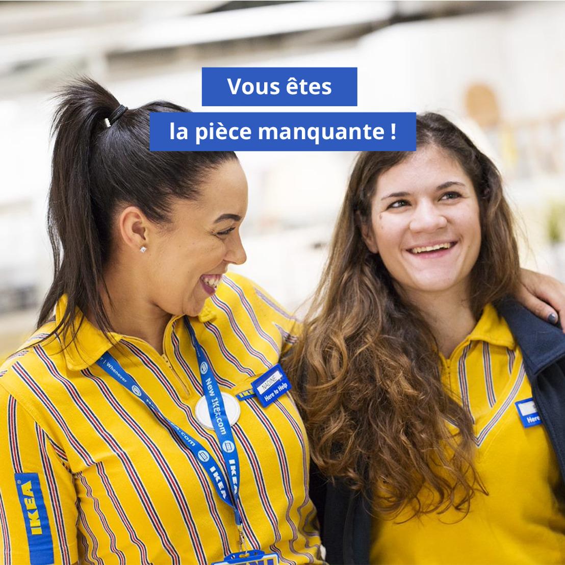 Face aux difficultés d'approvisionnement, IKEA Belgique met en place un plan de recrutement sans précédent.