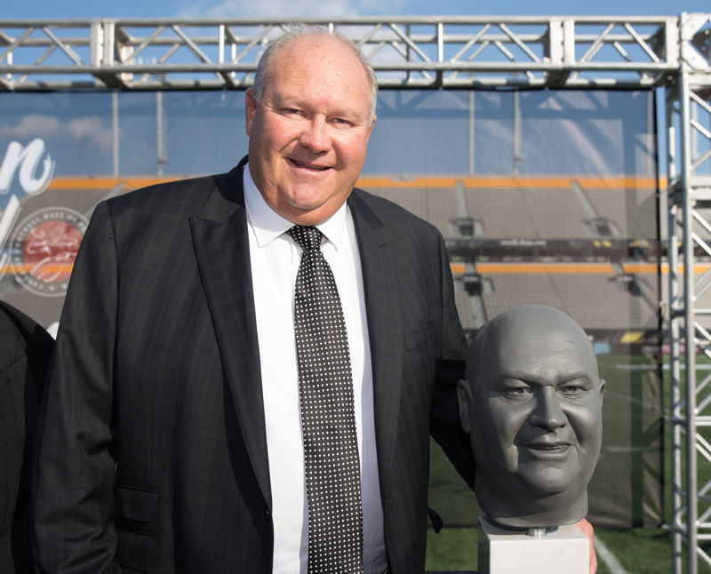 Brian Towriss, Canadian Football Hall of Fame Class of 2017. Photo credit: Kevin Sousa/CFL
