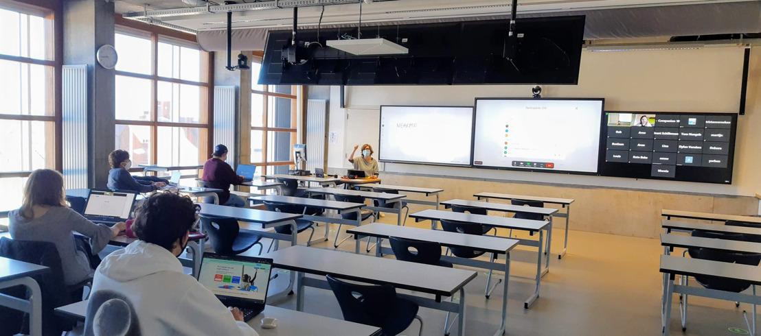 Campus De Vest investeert in hybride leslokalen van de toekomst