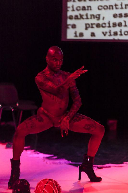 29 &amp; 30.09 - PERFORMING ARTS: Jaamil Olawale Kosoko (NI/US) -<br/> #negrophobia - Photo © Dajana Lothert