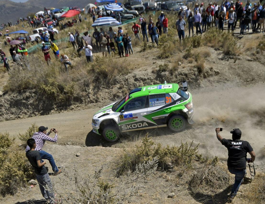 Rally Mexico: ŠKODA Motorsport\'s Pontus Tidemand dominates WRC 2 ...