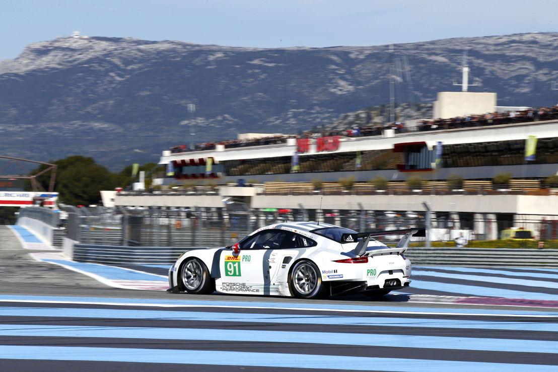 Porsche 911 RSR, Porsche Team Manthey: Joerg Bergmeister, Richard Lietz, Michael Christensen