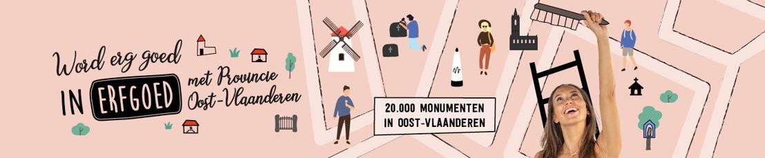 Beleef Open Monumentendag in Provincie Oost-Vlaanderen