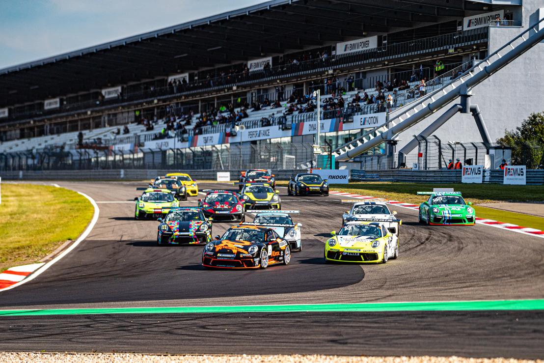 Gelijkspel voor Morris Schuring en Loek Hartog op de Nürburgring