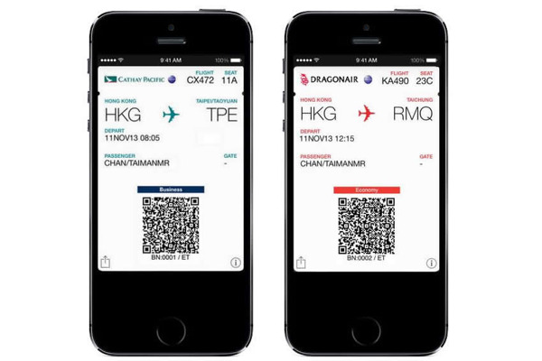 Cathay Pacific And Dragonair Make Mobile Boarding Pass Service