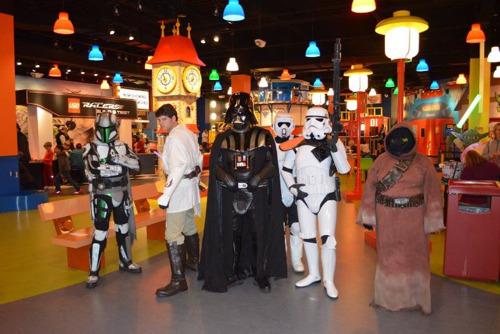 Awaken the force at LEGOLAND® Discovery Center Atlanta for LEGO® Star Wars™ Days