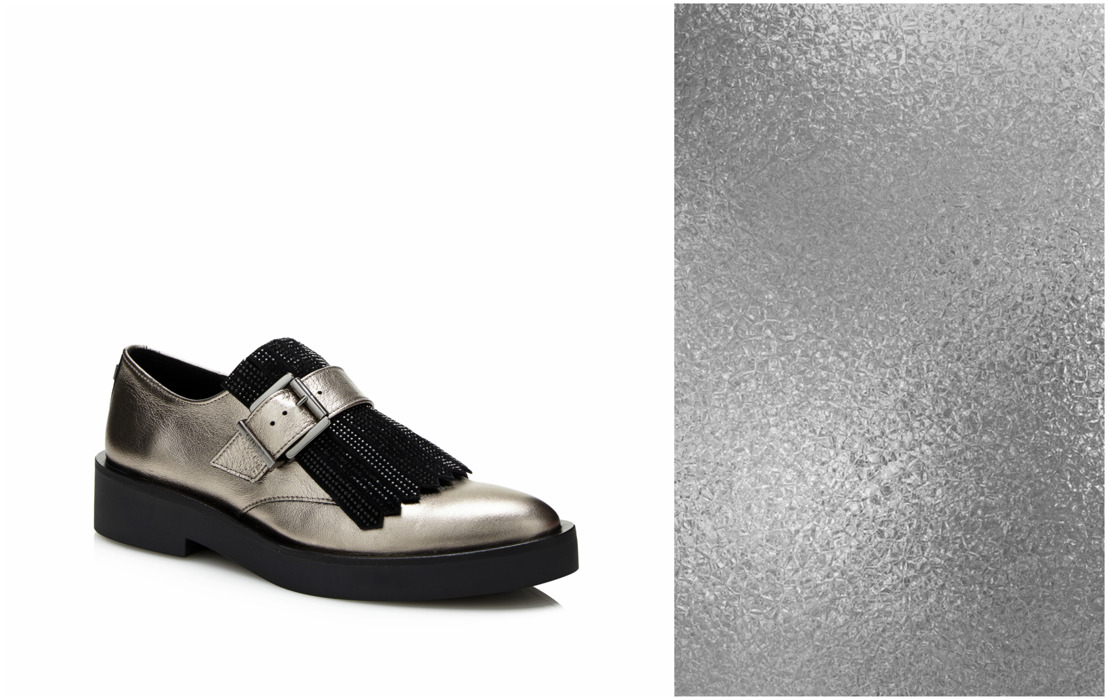 GUESS Footwear FW17: Metallic Mania