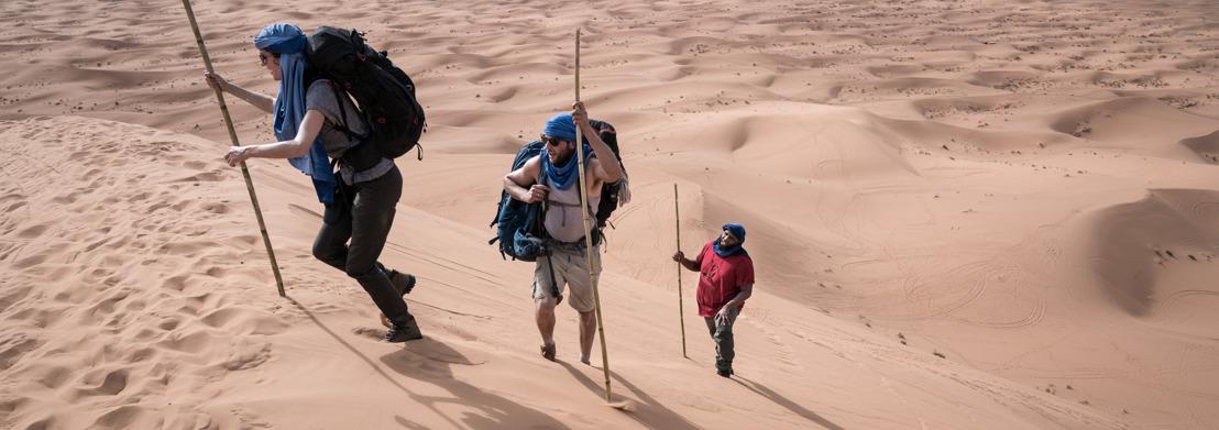 Astrid Coppens maakt kennis met een ronkende rapper in de woestijn