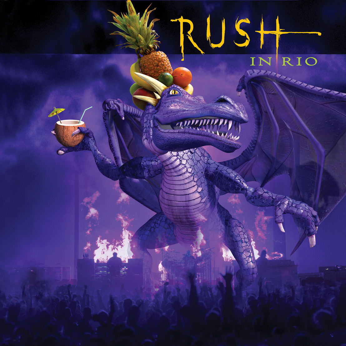 Anthem to Release Rush In Rio on Vinyl on January 18, 2018