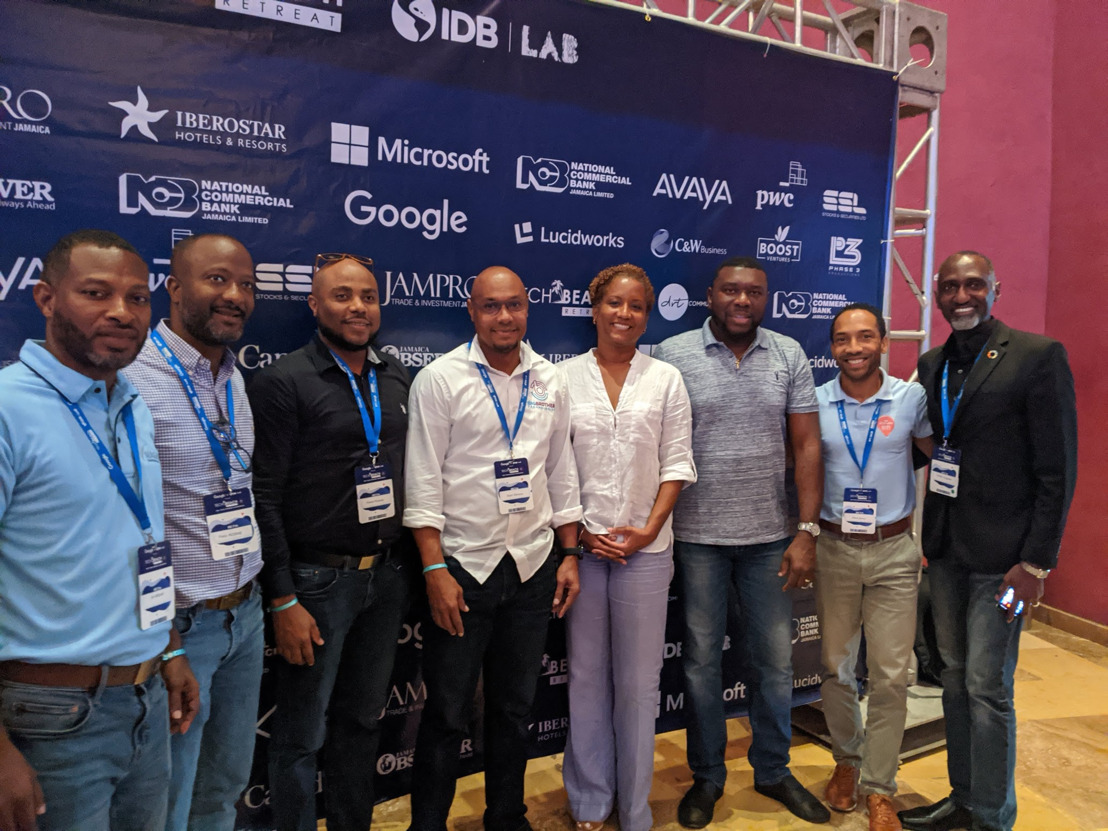 OECS ICT companies connect with global tech leaders at TechBeach Retreat in Jamaica