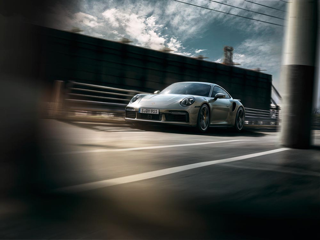 Un dynamisme encore renforcé pour la 911 coiffant la gamme