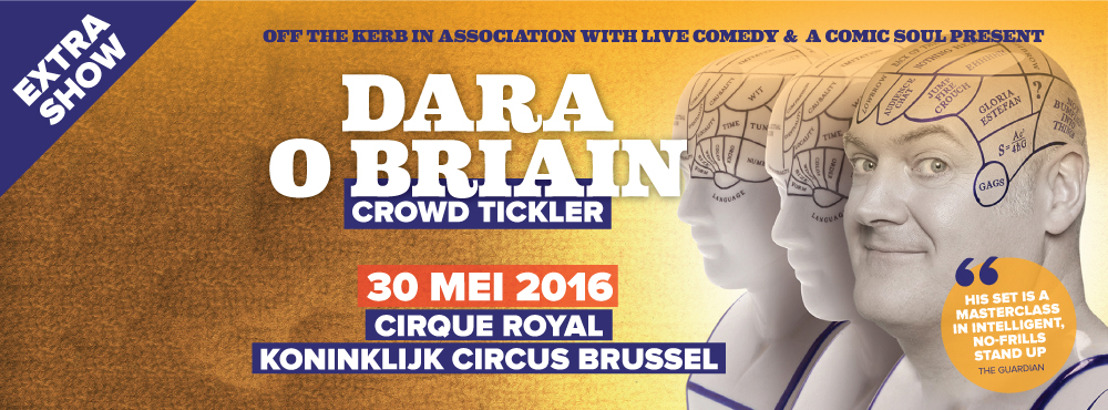 Extra Show Announced: Dara O Briain in Brussels