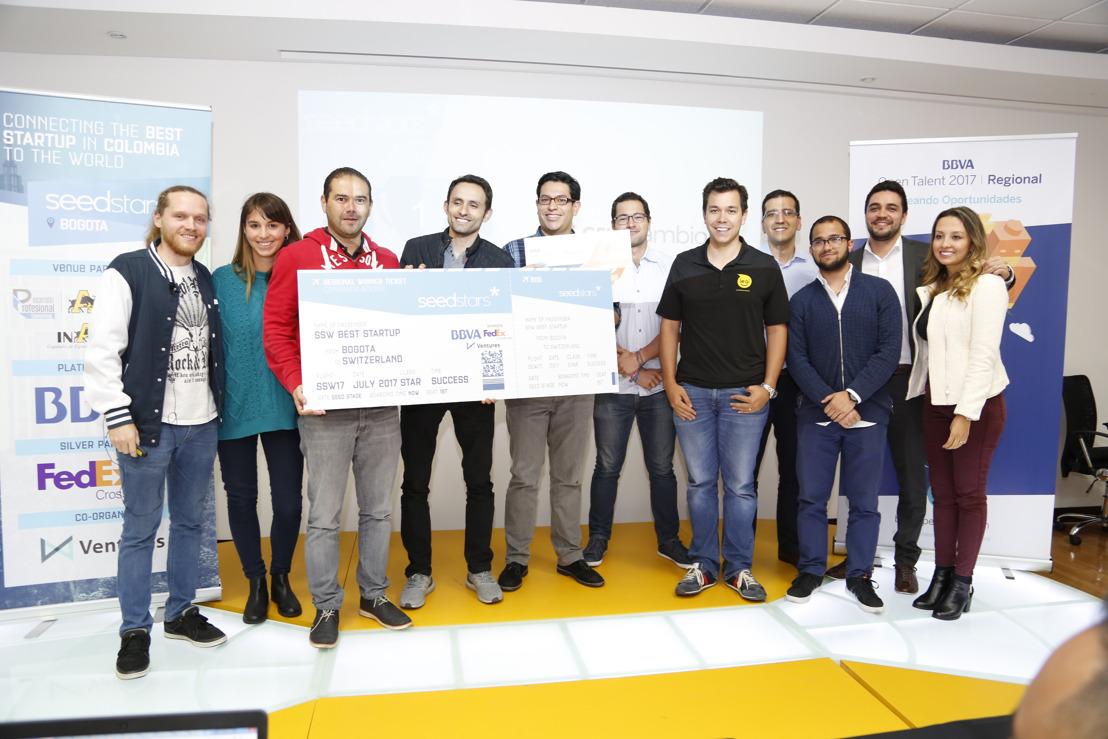 Celucambio.com nombrada mejor startup de Colombia en Seedstars Bogotá