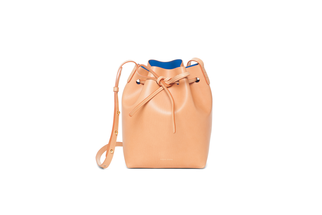 Mansur Gavriel Mini Bucket 515 euro at Graanmarkt 13