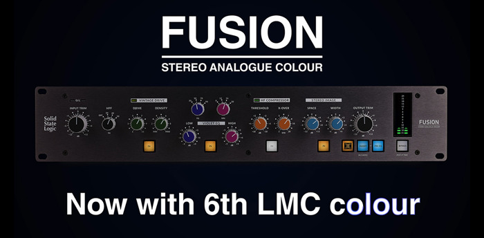 Smash It Up: Announcing a 'Sixth Colour' within Solid State Logic's Fusion