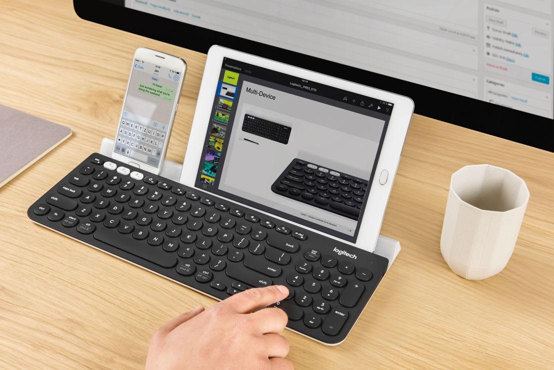 Teclado inalámbrico multi dispositivo Logitech® K780,