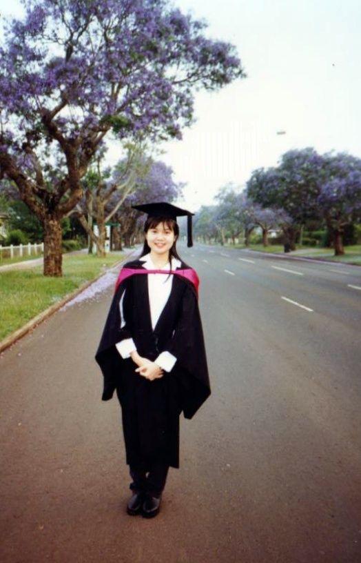 Pik Leng Chan in Australia furthering her studies