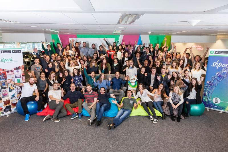 Die Gesichter hinter dem Erfolg von Shpock: 130 Team-Mitglieder aus 30 Nationen
