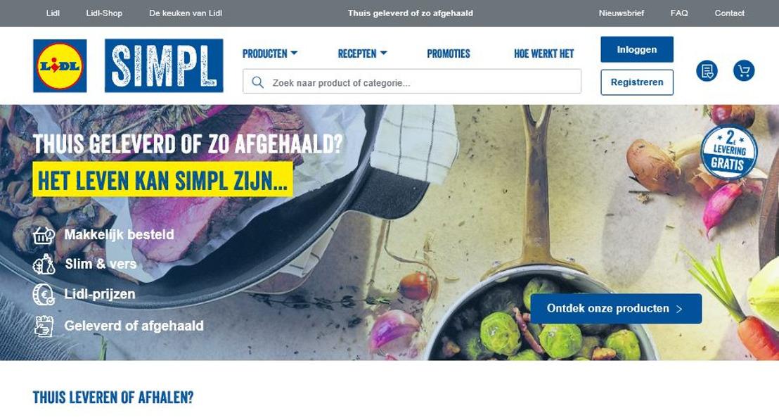 Lidl start afhaalservice in filiaal Destelbergen