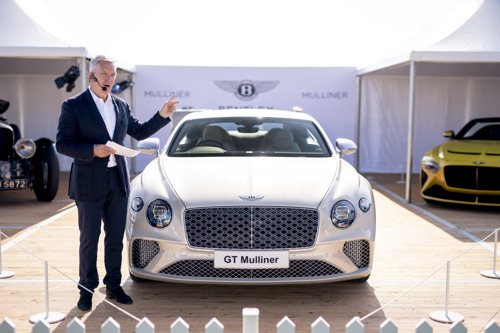 THREE-STRONG MULLINER FAMILY MAKES GLOBAL DEBUT