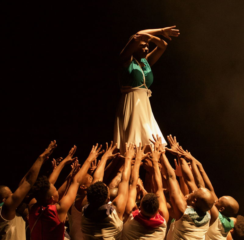 A scene from Ikhaya by Indoni Dance