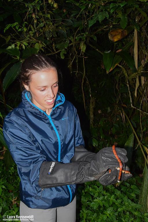 Masterstudente biologie Frieda Van Roy