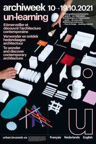 Archiweek 2021: De week van de Brusselse hedendaagse architectuur
