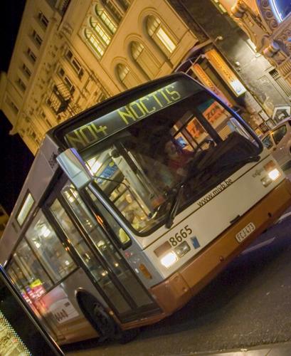 450 chauffeurs de la STIB sur le pont la nuit du 31 décembre