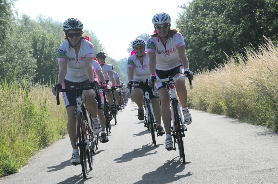 Bike for Think-Pink Challenge 2016