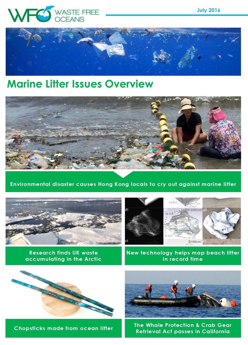 WFO Marine Litter Issues Overview - July 2016