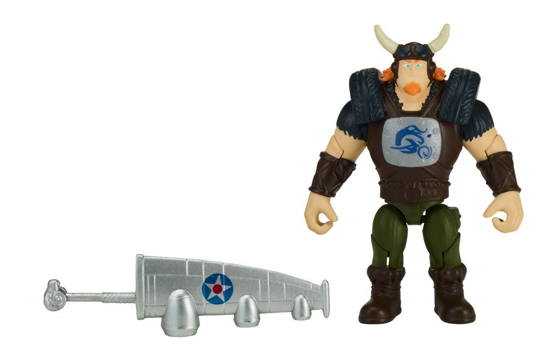 Crogar - Figuras de Acción de Zak Storm de 3 pulgadas
