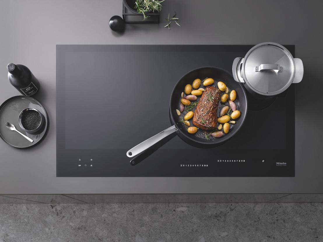 Flexibilité et intuitivité: les nouvelles taques de cuisson à induction à pleine surface Miele