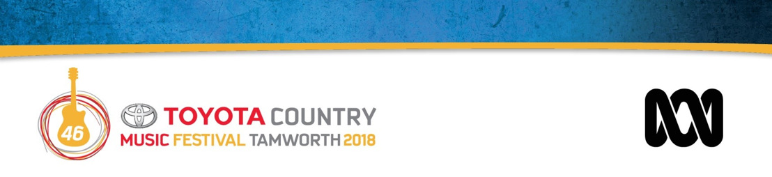 Tamworth Country Music Festival and the Australian Broadcasting Corporation announce new broadcast partnership