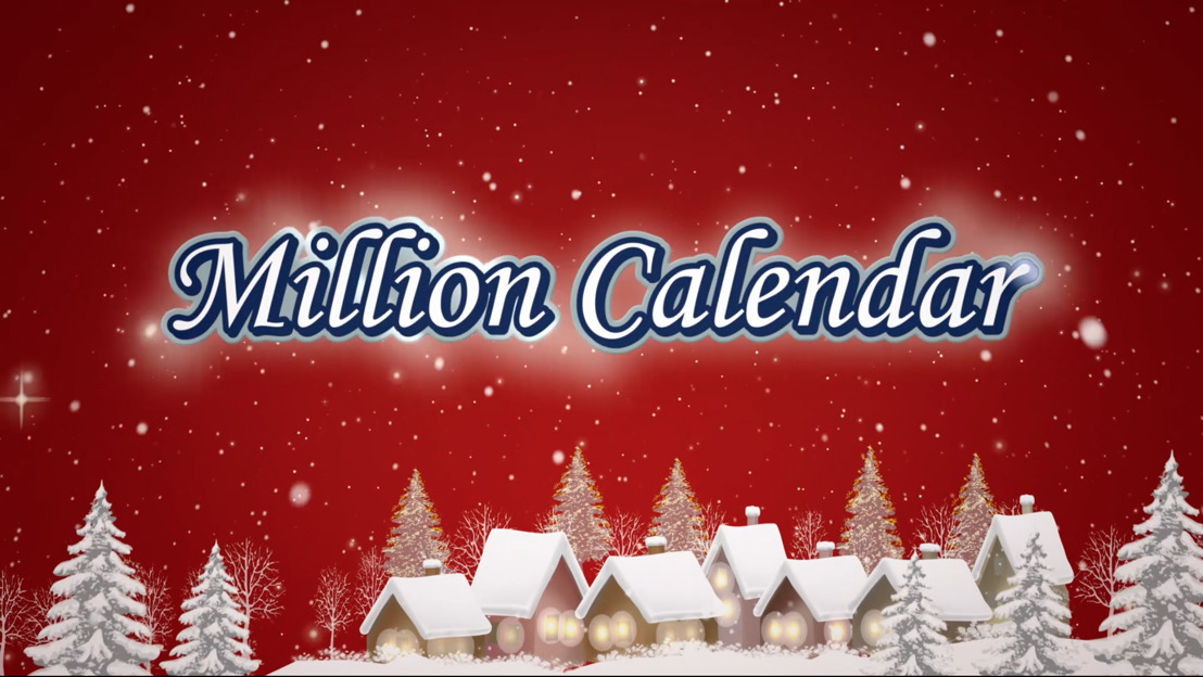 Air et la Loterie Nationale lancent le Million Calendar.