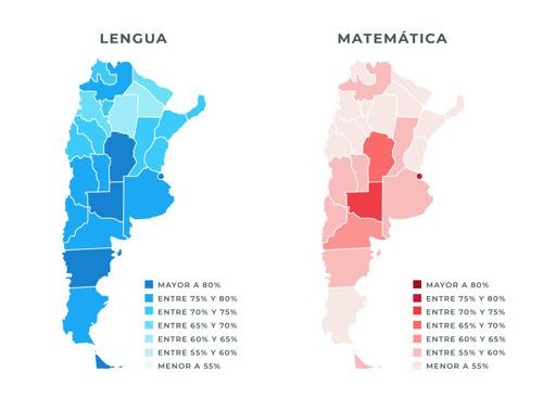 Aprender 2018: fuertes disparidades entre provincias