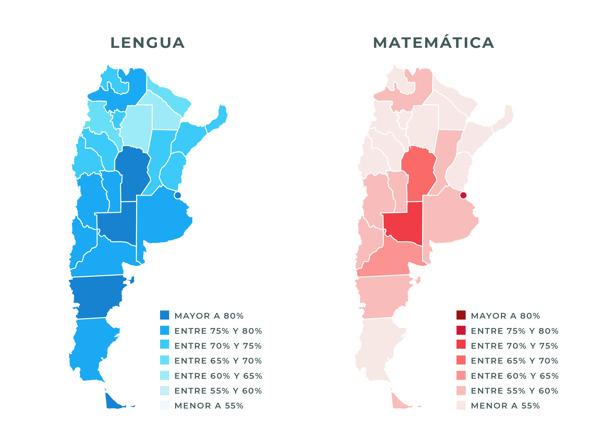 Preview: Aprender 2018: fuertes disparidades entre provincias