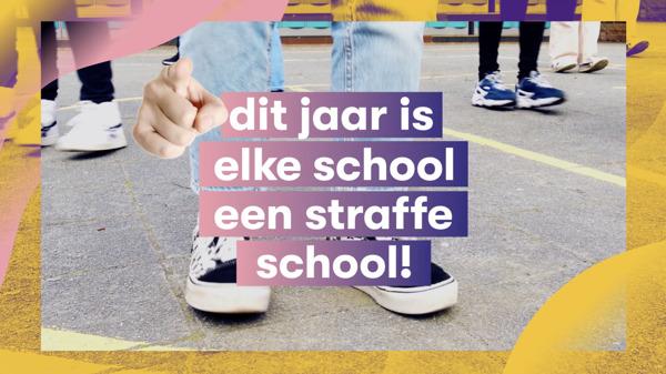 Preview: MNM viert op 20 mei alle scholen op De Strafste Schooldag
