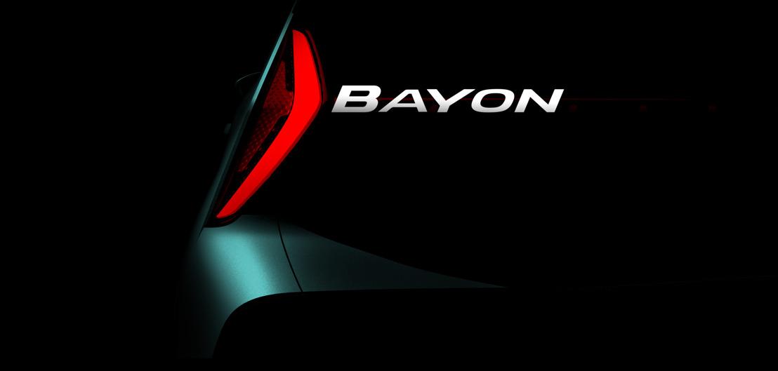 Das nächste, vollständig neue SUV-Modell von Hyundai heisst Bayon