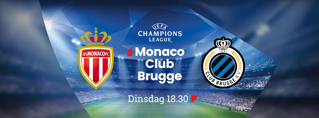 Match van de waarheid voor Club Brugge in de Champions League