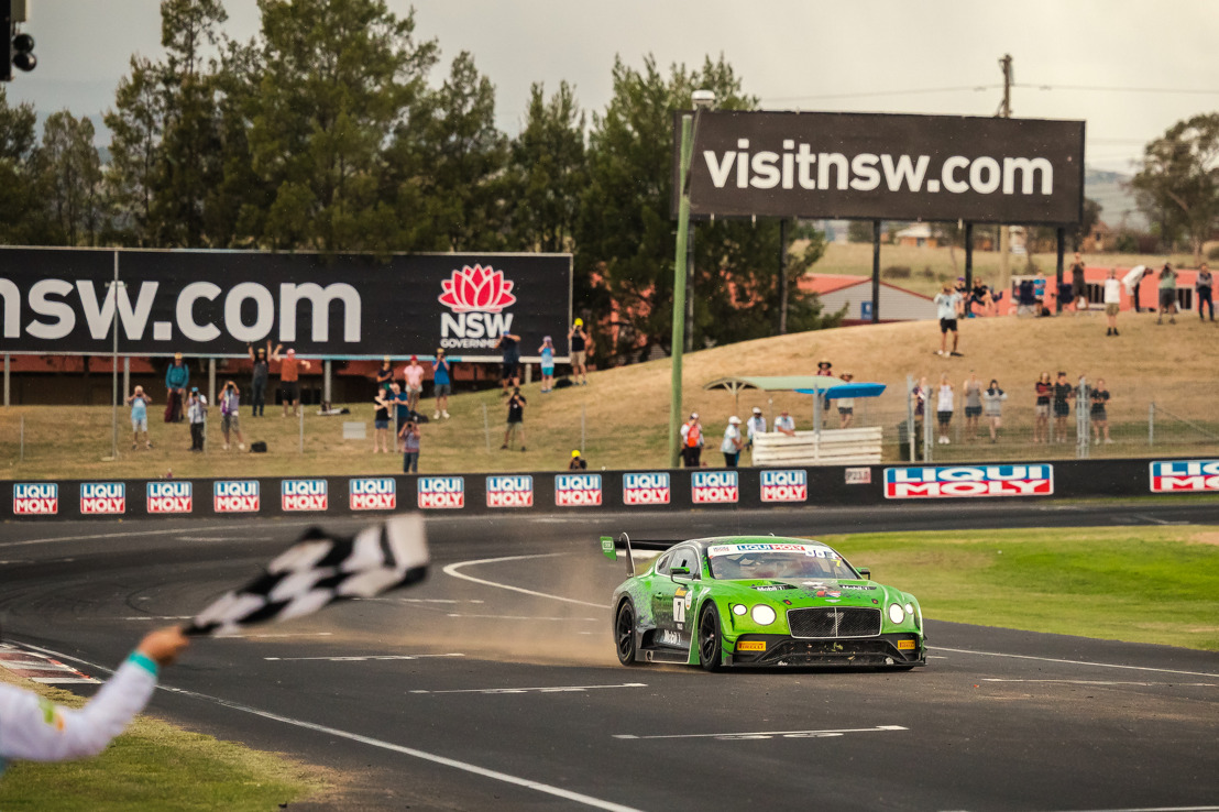 BENTLEY LEADS THREE RACE SERIES AFTER OPENING ROUNDS