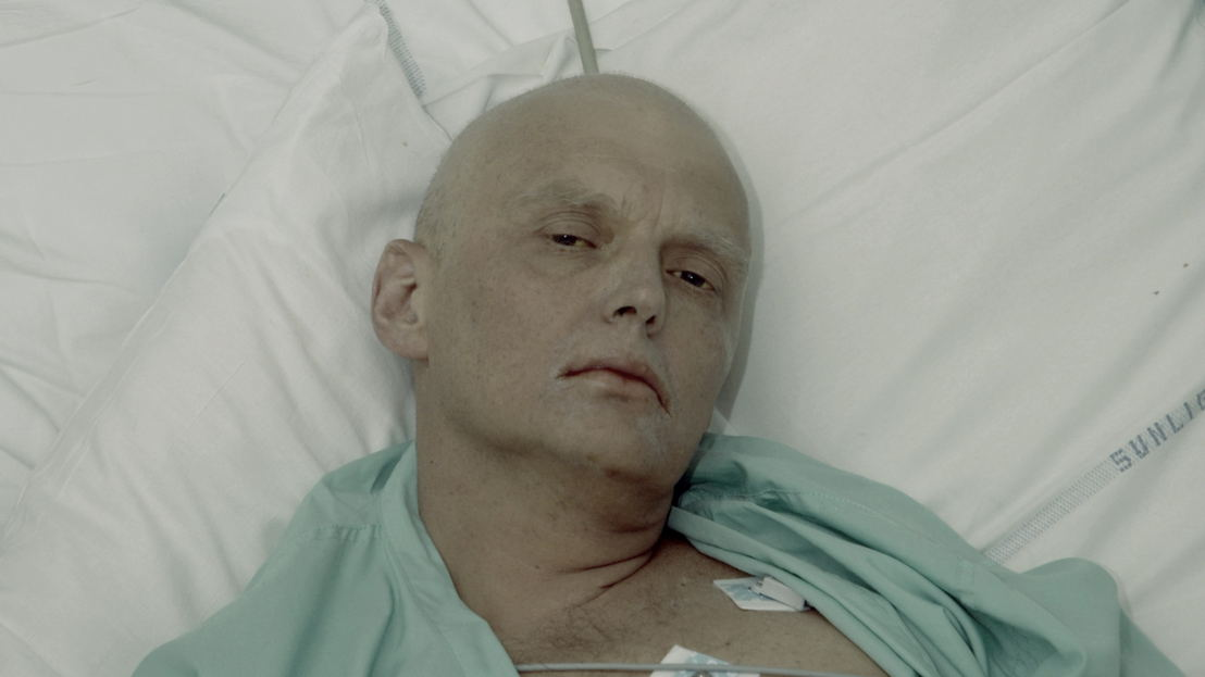 Ex-KGB spy Alexander Litvinenko dying of radiation poisoning in a London hospital