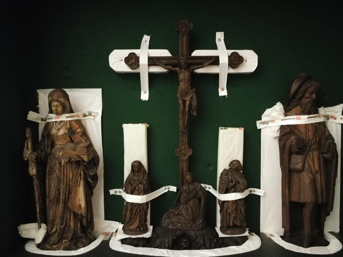 Akense beeldhouwwerken reizen naar Leuven