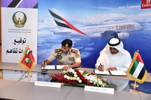 Emirates Group signs MoU with the UAE Armed Forces for national service deployment