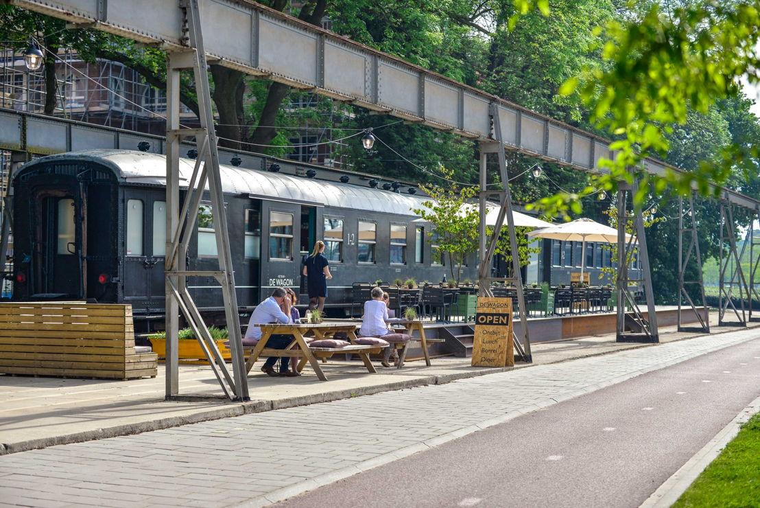 Restaurant De Wagonat Spoorzone TilburgSource: Marketing Tilburg