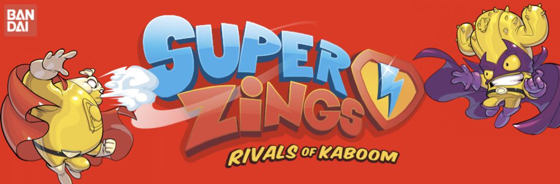¡Bandai lanza SuperZings! los increíbles héroes y villanos coleccionables de Kaboom City están listos para enfrentarse en divertidos duelos de poder