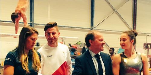 Vlaanderen kandidaat voor WK Gymnastiek 2023
